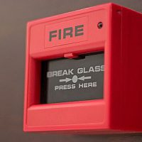 Break glass alarm