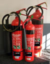 Photograph of Carbon Deoxide Extinguishers