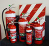 Photograph of Dry Chemical Extinguishers