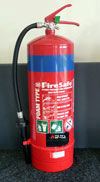 Photograph of a Foam Extinguisher