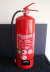 Photograph of a Water Extinguisher