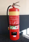 Photograph of a Wet Chemical Extinguisher